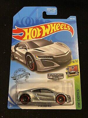 2019 Hot Wheels Zamac #199 2017 Acura NSX New Near Mint