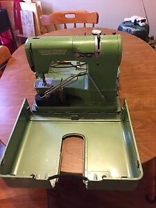 Vintage Elna Sewing machine in case