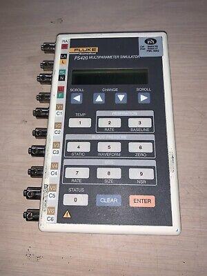 Fluke Biomedical Ps420 Miltiparameter Simulator Patient Biotek