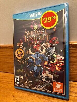 Shovel Knight (Nintendo Wii U, 2015) Brand New Sealed!
