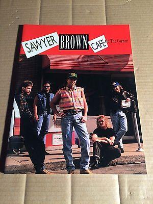 SAWYER BROWN - CAFE ON THE CORNER - SONGBOOK - NOTEN