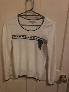 Review White Knit Cardigan size:10
