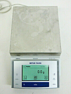 Mettler Toledo Xs8001s Precision Balance 8100g X 0.1g