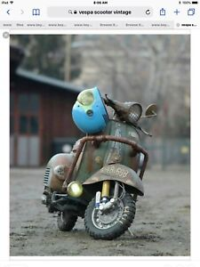 LOOKING TO PURCHASE VINTAGE SCOOTER ,MOPED