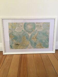 World map Hamilton South Newcastle Area Preview