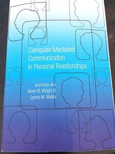 Book- Computer Mediated Communication in Personal Relationships