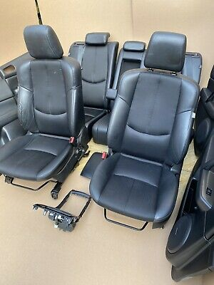 MAZDA 6 GH HALF LEATHER SEATS HEATING + DOOR CARDS + HEATING BUTTONS 2008 - 2012