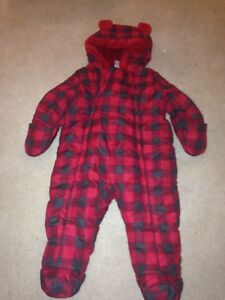 6-12 month snowsuit
