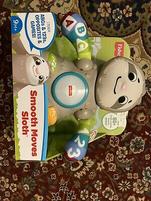 Fischer Price Linkimals Smooth Move Sloth Electronic Learning Toy. Age 9M+