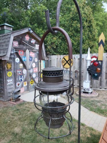 Bangor & Aroostock (BAR) Railroad Signal Lantern by Adams & Westlake