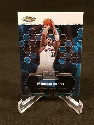 2003 Topps Finest Michael Jordan ~ Washington Wizards