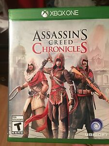 Xbox one game assassins creed
