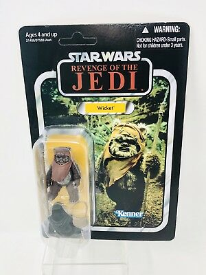 Star Wars The Vintage Collection Wicket Ewok Revenge Of The Jedi Unpunched VC27