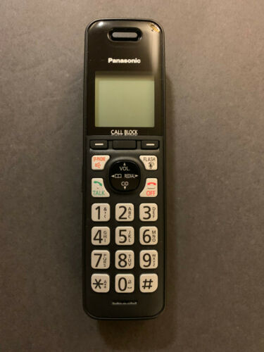 Panasonic KX-TGFA72 B Cordless Phone Expansion Handset Replacement KX-TGFA72B
