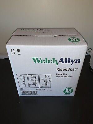 Welch Allyn Kleenspec Vaginal Speculum Box Of 18 58001s Medium Sheath New