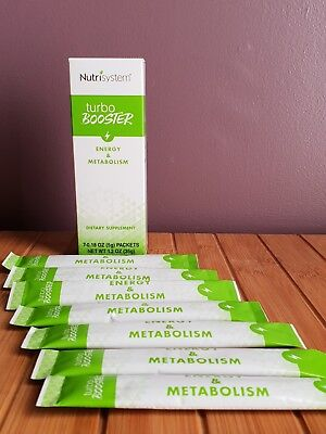 Nutrisystem New Turboboosters Turbo Boosters Increase Metabolism   Energy 7 Pack