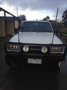 1992 Factory Turbo Toyota LandCruiser Wagon GXL Cudgewa Towong Area Preview