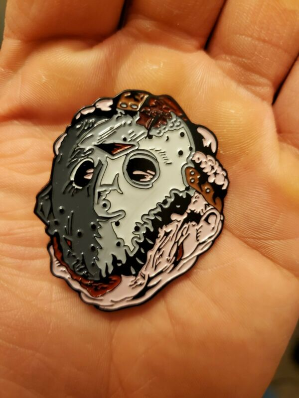 Jason Goes To Hell Enamel Pin Friday The 13th
