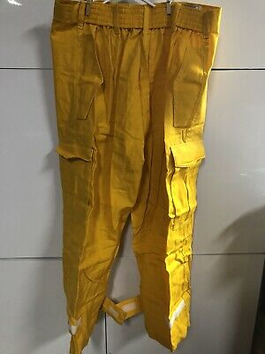100/% NOMEX FIREFIGHTER GEAR BRUSH FIRE WILDLAND PANTS NEW S R