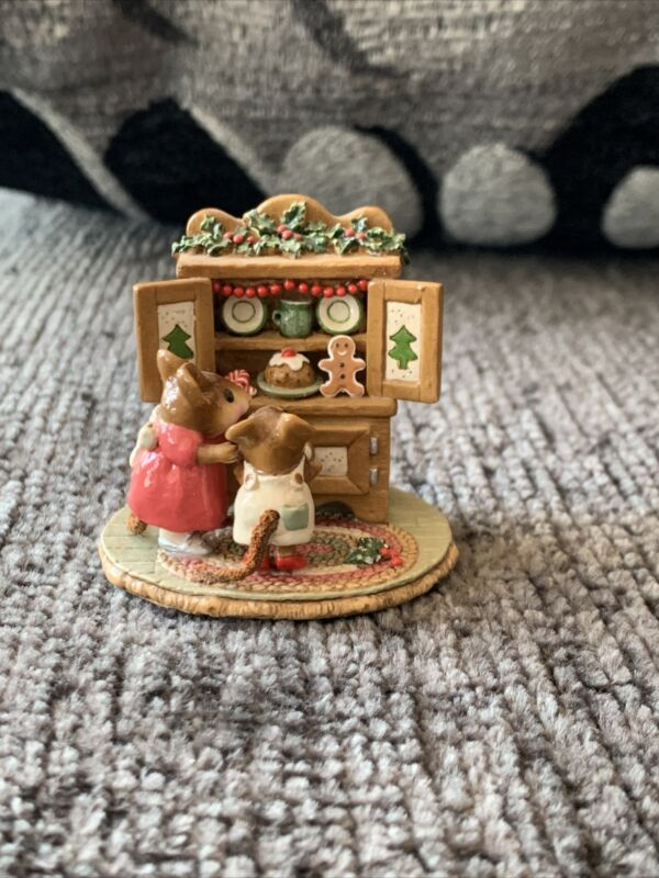 "Wee Forest Folk ""Christmas Cupboard"""