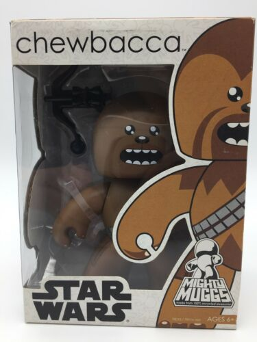 Star Wars Mighty Muggs Vinyl Series Chewbacca Figure Gift 6""