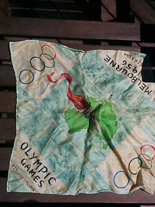 Olympic Scarf 1956 Melbourne Bentleigh East Glen Eira Area Preview