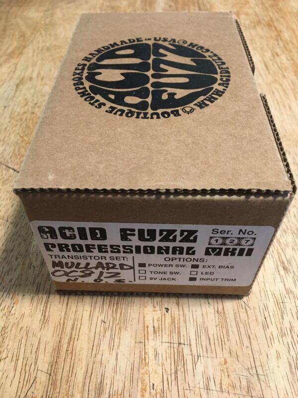 Acid Fuzz Mk2 Proffesional Tone Bender NOS Oc81z