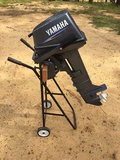 Yamaha 6hp Two Stroke Long Shaft Outboard