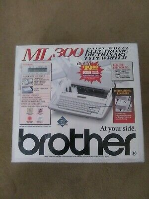 Brother Ml-300 Multilingual Spellcheck Daisywheel Electronic Typewriter