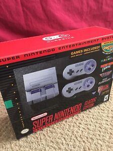 Super Nintendo Classic (unopened)