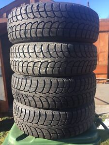 p185/65/15 inch Winter Tires / GOOD TREAD / GOOD DEAL