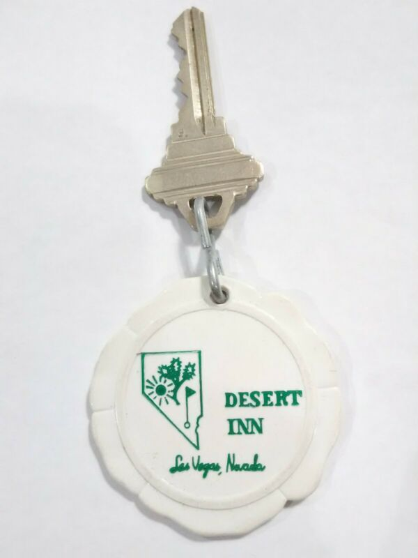 DESERT INN CASINO LAS VEGAS, NV. VINTAGE VAULT ROOM KEY PERFECT FOR COLLECTION!
