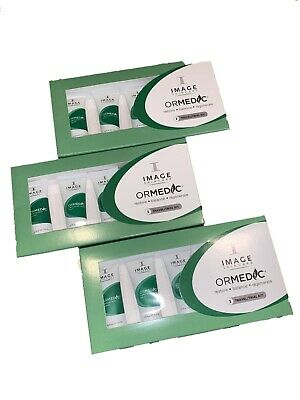 3X Image Skincare Ormedic Travel Kit Exp 07/2020  3 Pack (15 Pcs/0.25 oz Each)