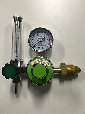 Open Box Argon Co2 Regulator Flow Meter Gauge For Tig Mig Welding Cga-580