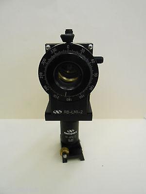 Newport Optical Lm-1r Lens Mount Lp-05 3 Axis Positioner On M-vph-2 Holder