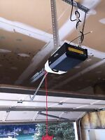 Garage doors and openers installation and repairs