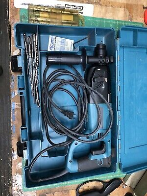 Makita 1-inch D-handle Rotary Hammer Drill Hr2455x With Bits Barely Used
