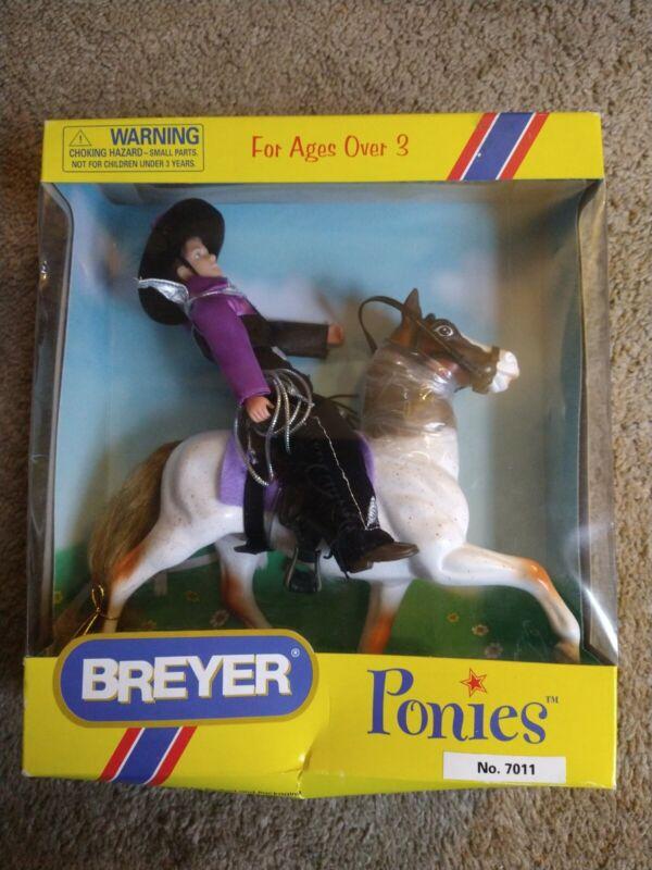 Breyer Pinies #7011 Cowboy Rider Set