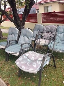 ***Free*** 6 outdoor chairs Greenacre Bankstown Area Preview