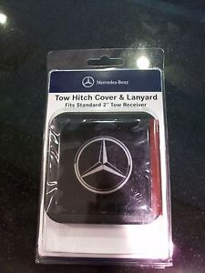 Oem genuine mercedes benz decorative star marque hitch for Mercedes benz car cover oem