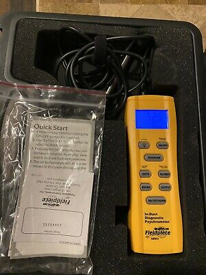 Fieldpiece Srh3 In-duct Digital Psychrometer