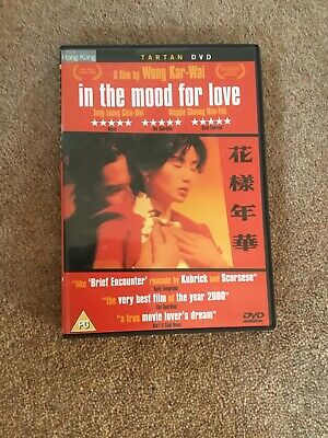 In The Mood For Love And Sequel 2046 DVDs, ENGLISH subtitled Fantastic Condition
