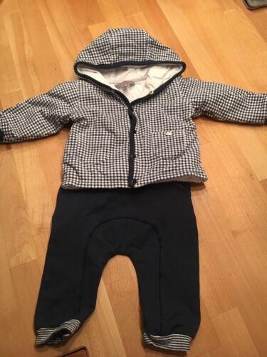 Kanz Jungen Baby Anzug JAcke und Hose Gr. 62 wie neu