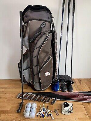 Full Set Mens Golf Clubs / Donnay &  Bag - Right Handed Regular / Beginner