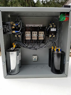 15hp Cnc Balanced 3 Phase Rotary Converter Panel 10 Year Warranty