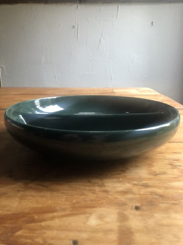 Russel Wright Green Divided Dish Iroquois MCM Modernist