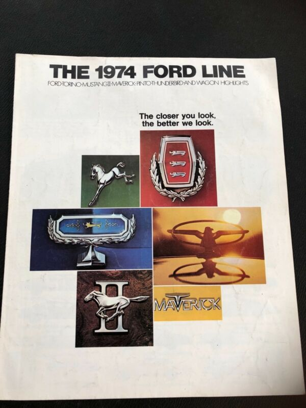 1974 Ford Brochure