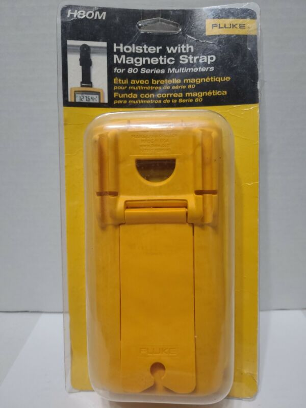 Fluke H80M Protective Holster Does Not Have Magnetic Strap Case Only (A1)