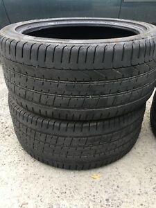 Selling 4 pirelli tires 2 p245/45/ZR20  & 2 p275/40/zR20
