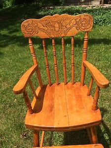 Wooden chair for child